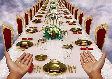 Image result for heavenly banquet